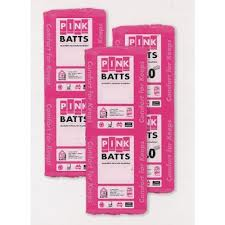 PINK BATTS Fibreglass Insulation